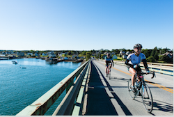 Riders-on-Bridge-to-Beals-Island