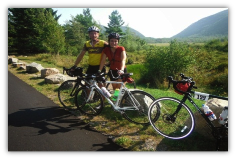 Bikemaine the ride that changed our lives a bikemaine for Bike rides in maine