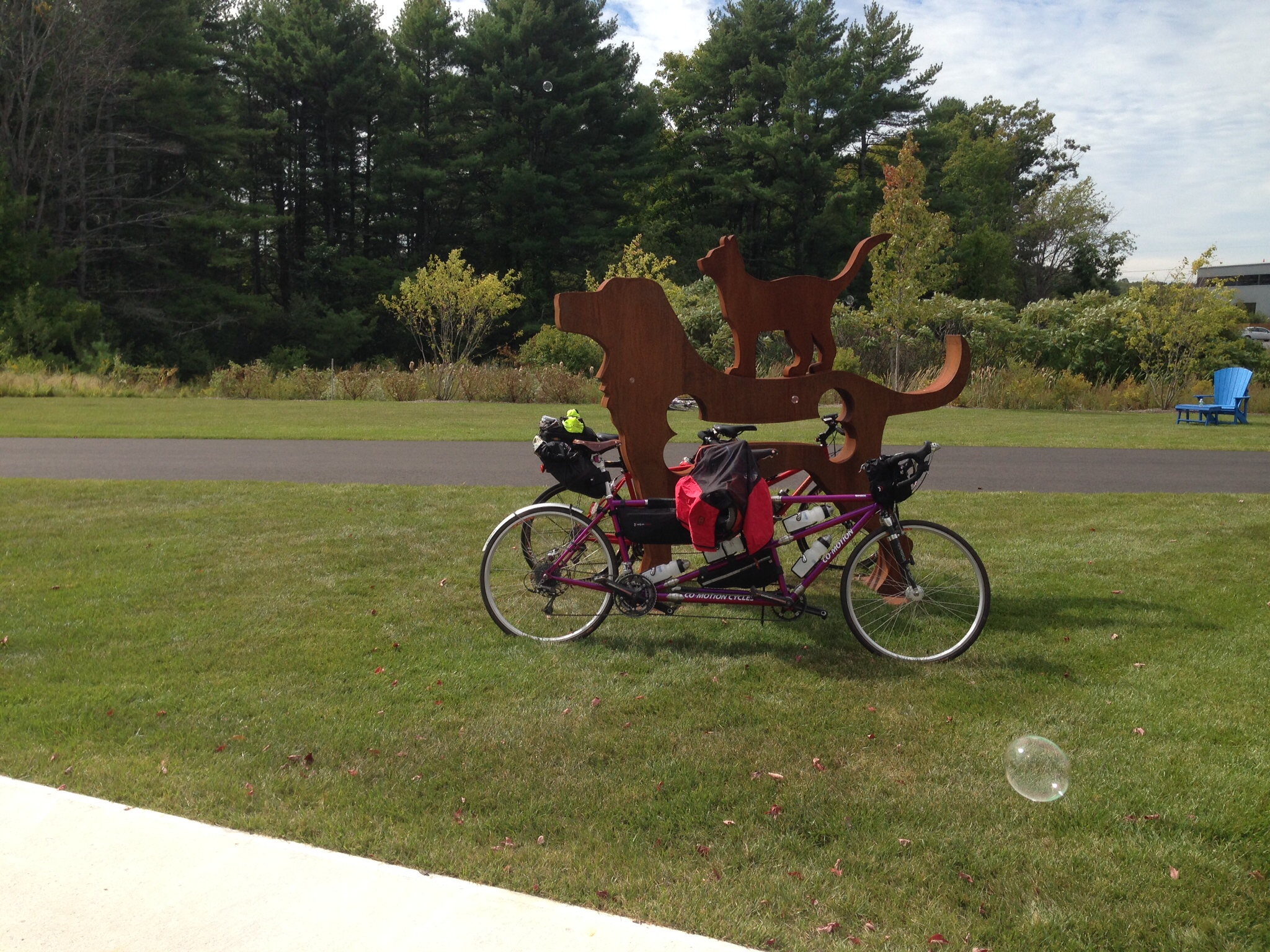 Idexx photo gallery bikemaine for Bike rides in maine